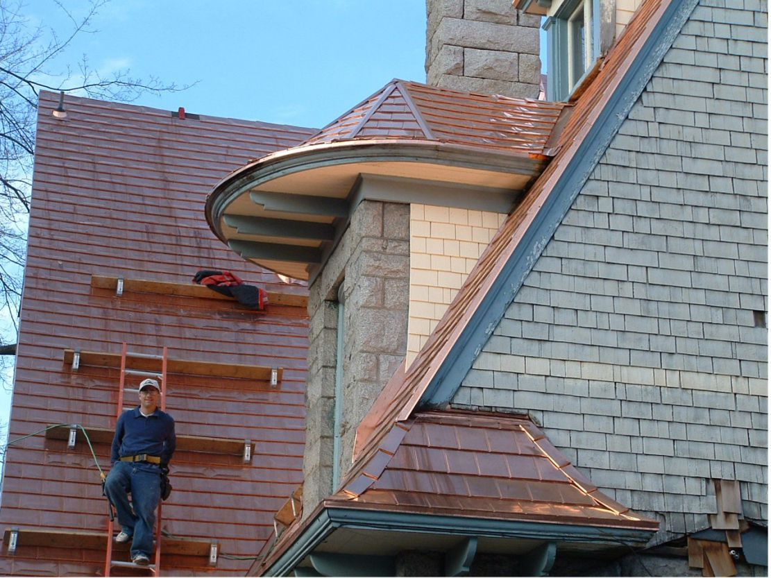 Zappone Gallery Residential Roofing Copper