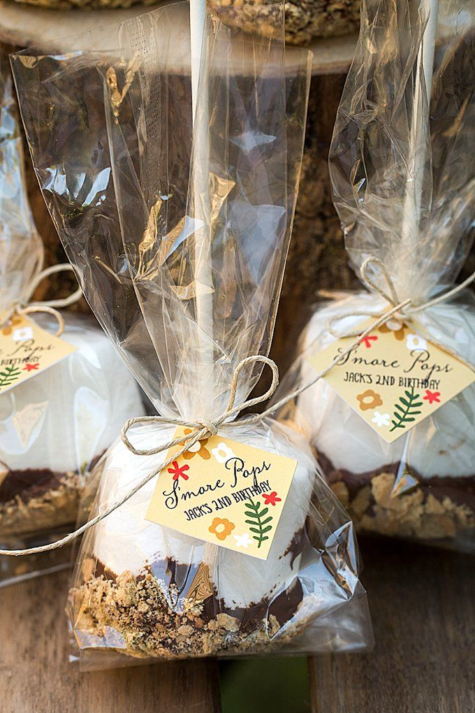 Easy S'more Pop Party Favors in 2019 | Gift Recipes ...