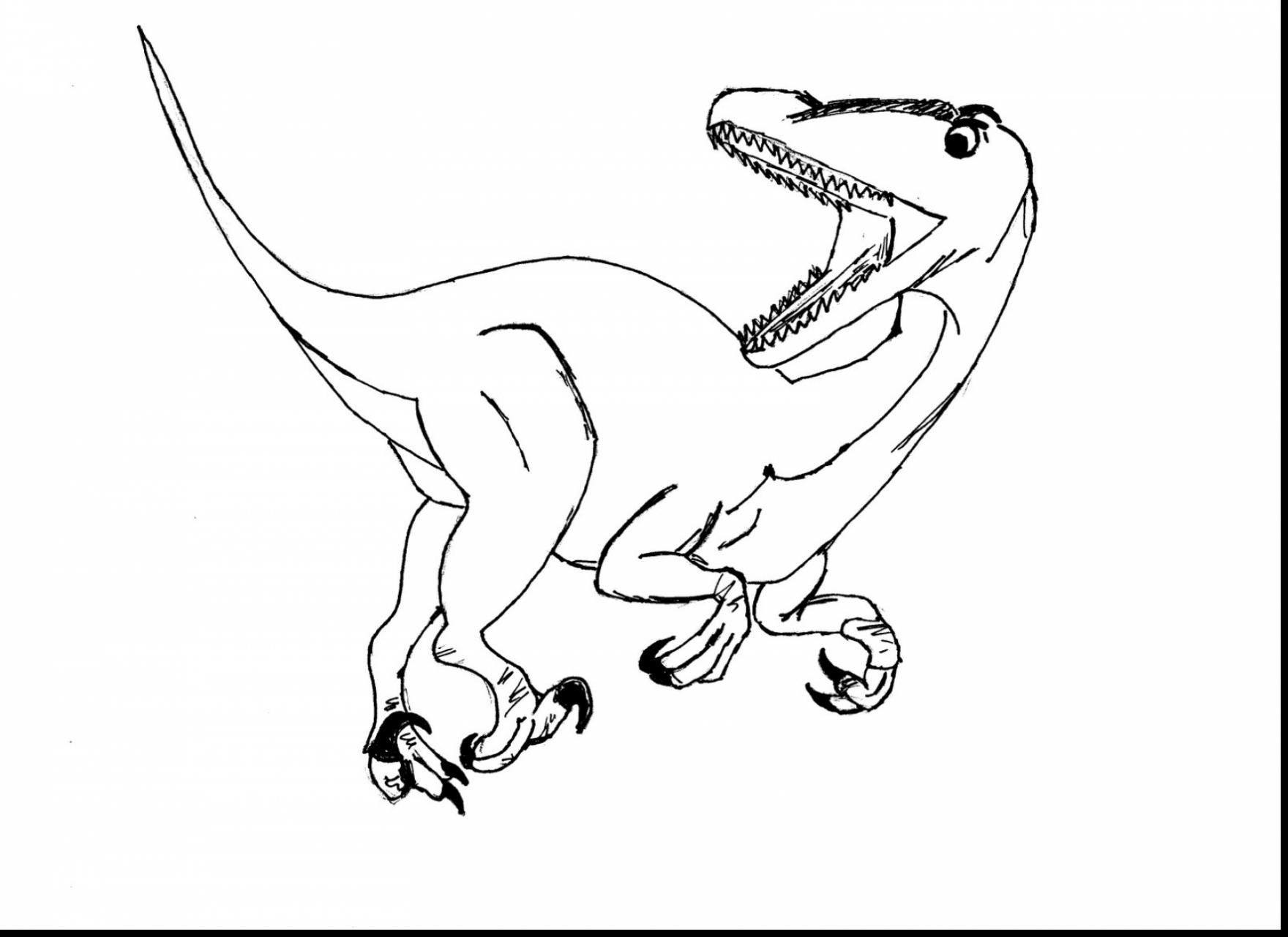 Velociraptor Coloring Pages - GetColoringPages.com | 1281x1760
