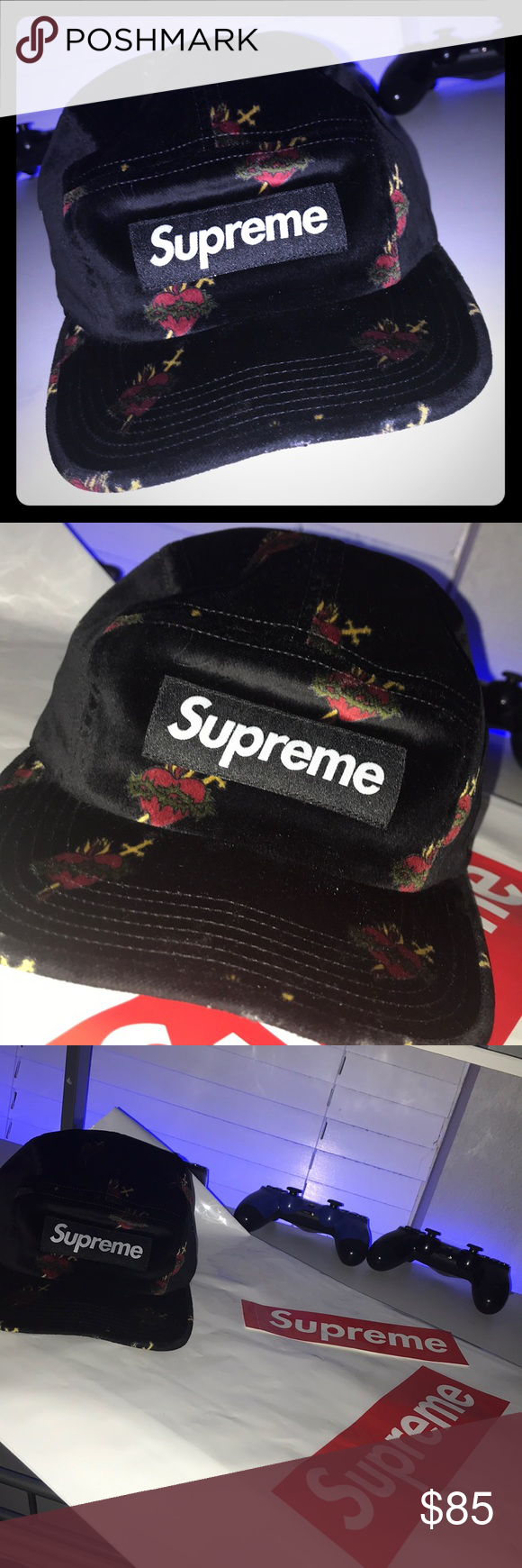 Supreme Sacred Heart Camp Cap My Email