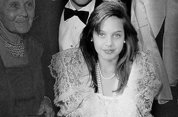 Angelina Jolie Age 11
