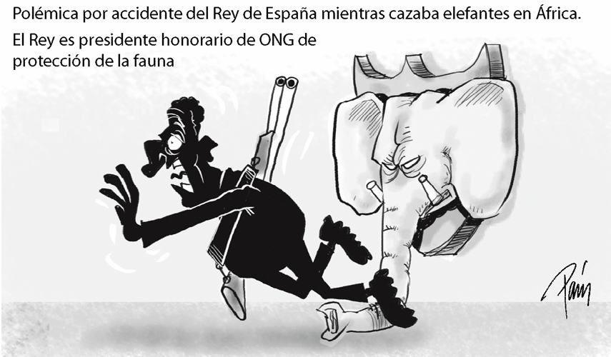 Caricatura por Esteban Paris publicada en El Colombiano, 16 de abril de 2012.