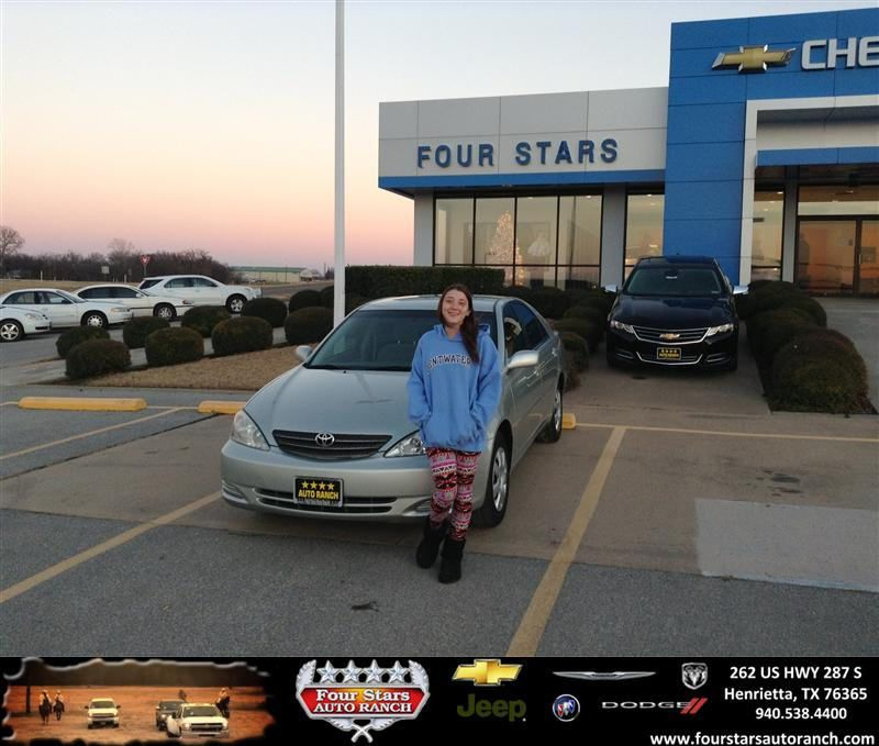 #HappyAnniversary to Dewayne Aylor on your 2004 #Toyota #Camry from Dewayne Aylor at Four Stars Auto Ranch!