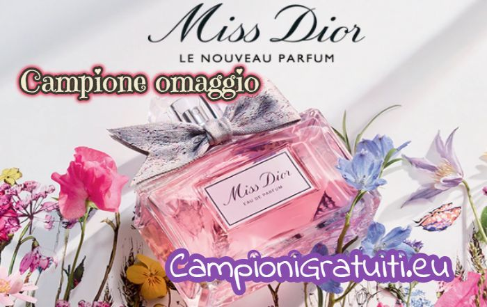 Campione Gratuito profumo Miss Dior offerto da Douglas