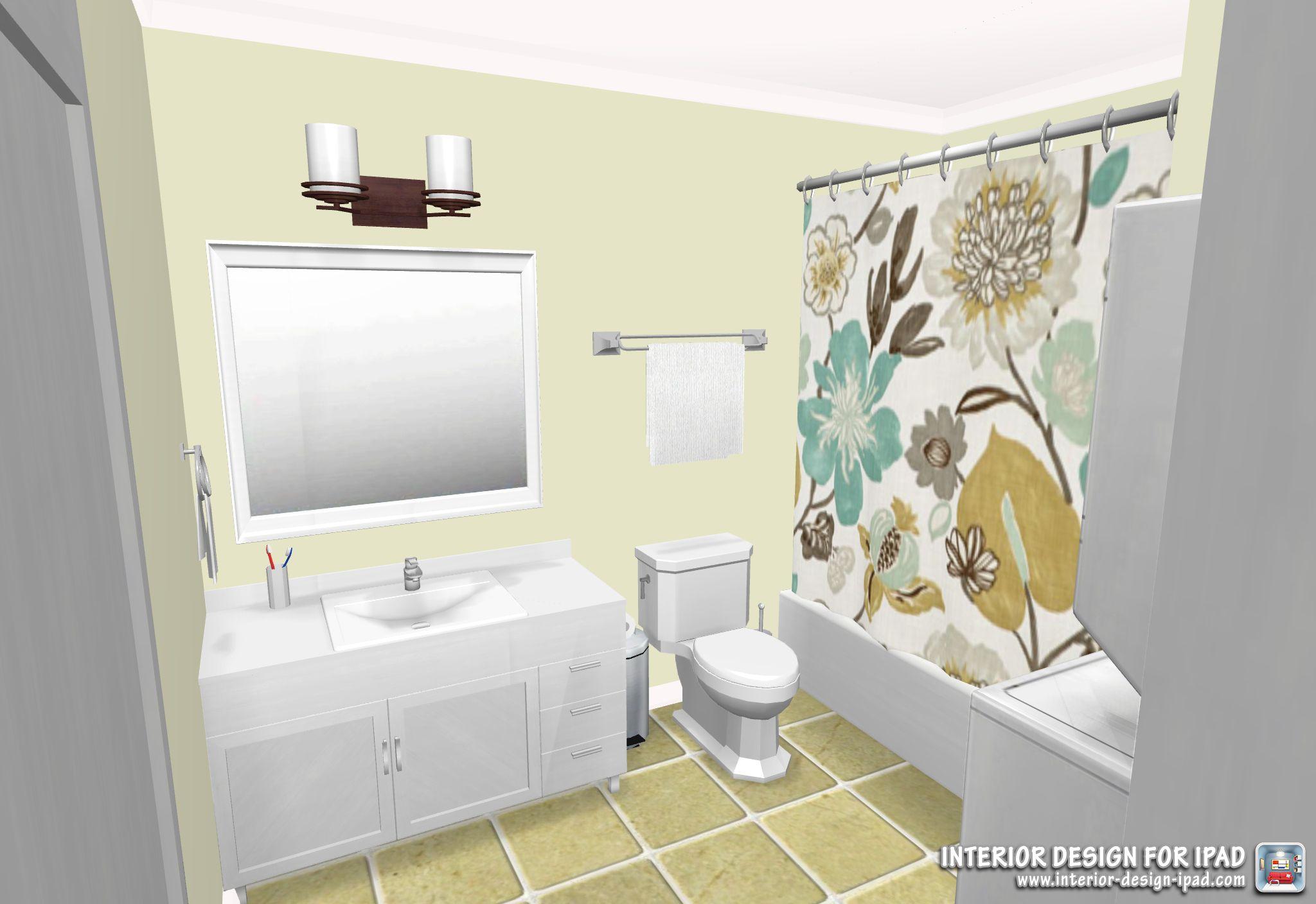 Bathroom Created By Interior Design For Ipad App Interior