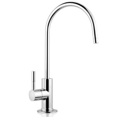 European Designer Drinking Water Faucet For Reverse Osmosis Water Filtration Systems In Luxury Chrome Luxury Chrome Finish Reverse Osmosis Water Water Faucet Faucet