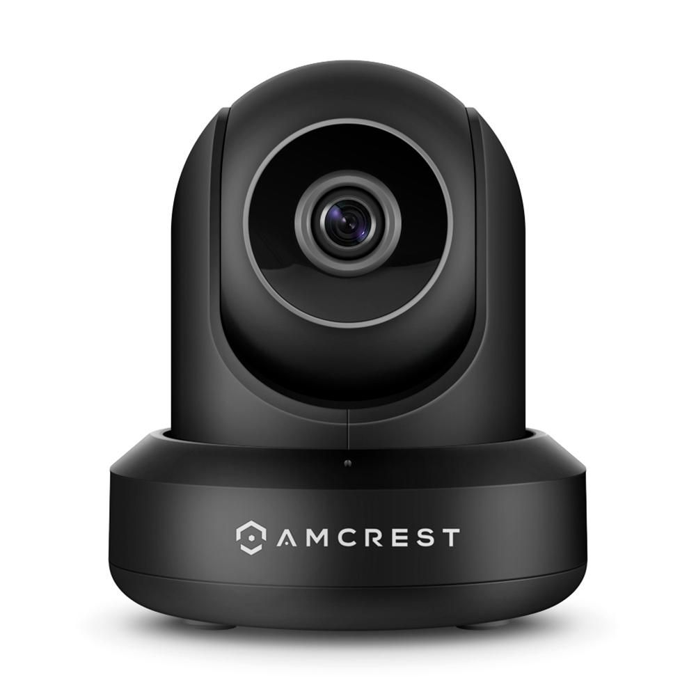 Amcrest Prohd 1080p Poe Wired Ip Pan Tilt Security Camera With 2 Way Audio Wide 90 Degree Viewing Angle And Night Vision Ip2m 841eb 60ftcable The Home Depot In 2021 Ip Security Camera Video Security Wireless