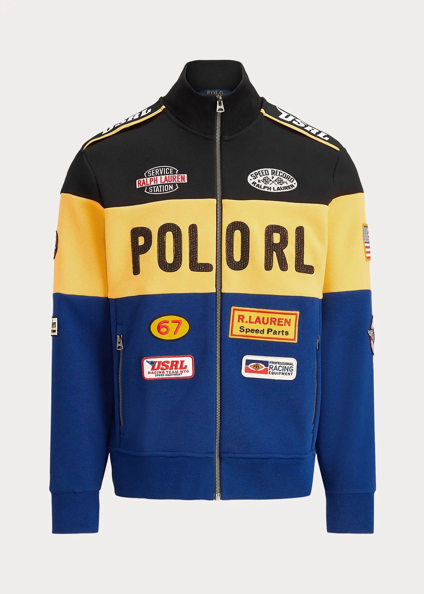 2021ss Usa Menswear Outerwear Jacket Polo Ralph Lauren In 2021 Racing Jacket Menswear Outerwear Jackets [ 2016 x 1440 Pixel ]