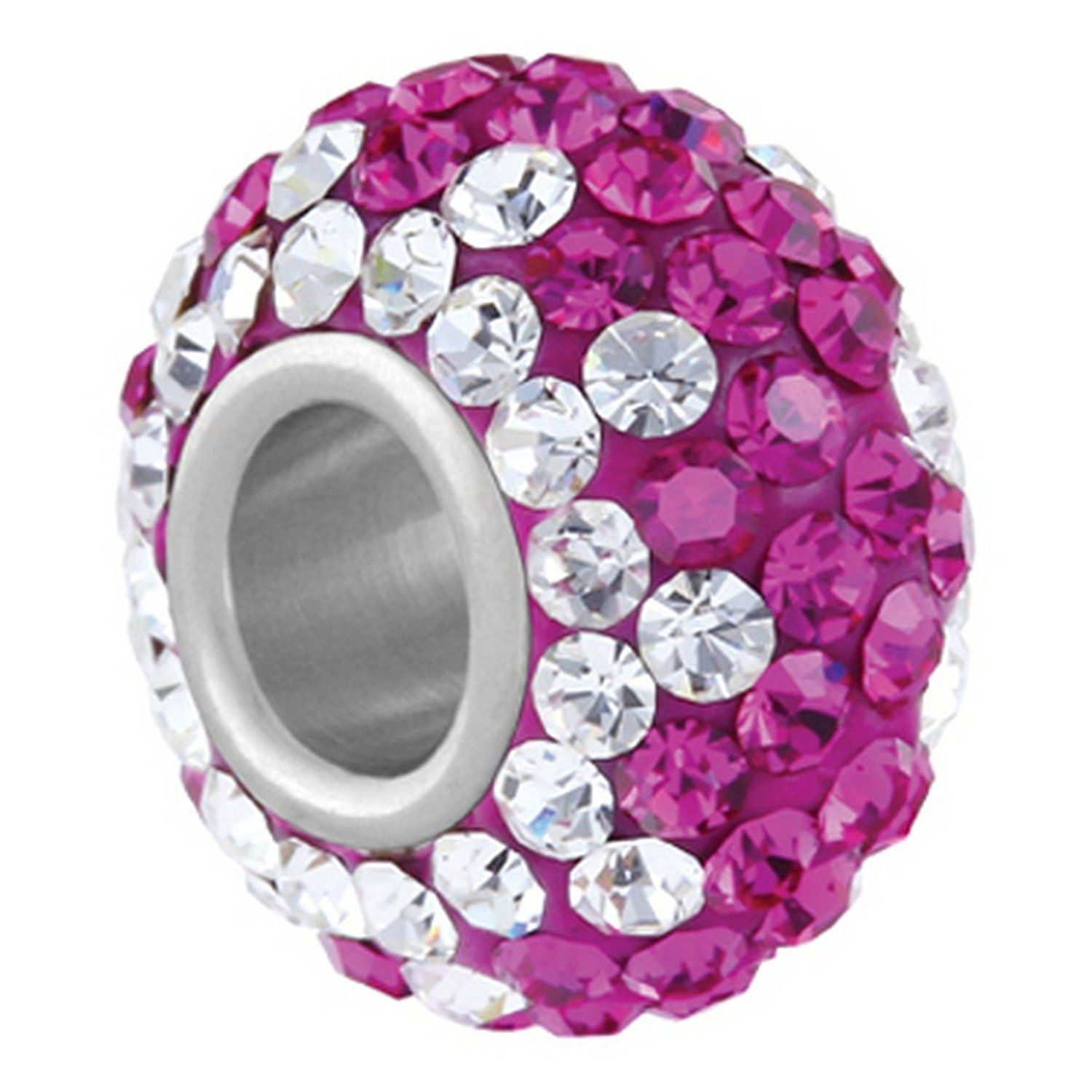 Fuchsia Tuxedo - Pandora Style Beads, Pandora Style Charms, Pandora Style Bracelets -- Startling review available here  : trend jewelry 2016
