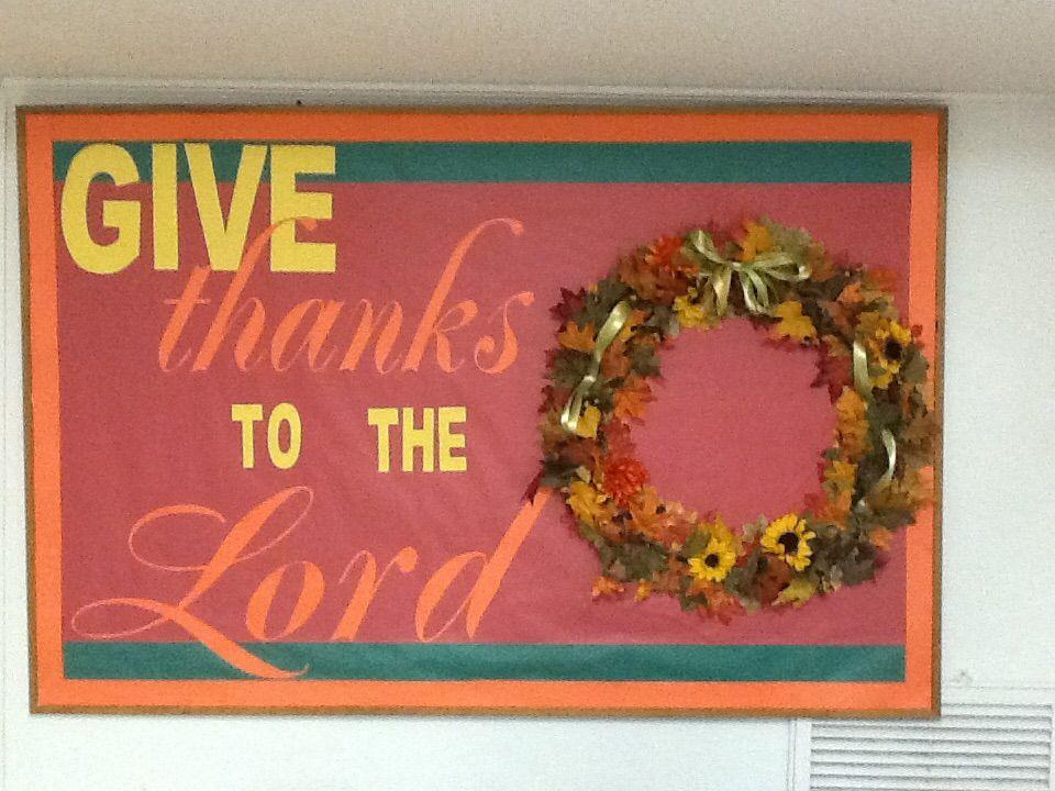 lovely Thanksgiving Church Bulletin Board Ideas Part - 11: Thanksgiving Church Bulletin Board Church Bulletin Boards, Bullentin Boards,  Church Ideas, Board Ideas