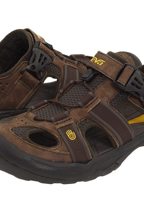 3e9e5b4254247 Teva Omnium Leather (Brown) Men s Sandals - Teva