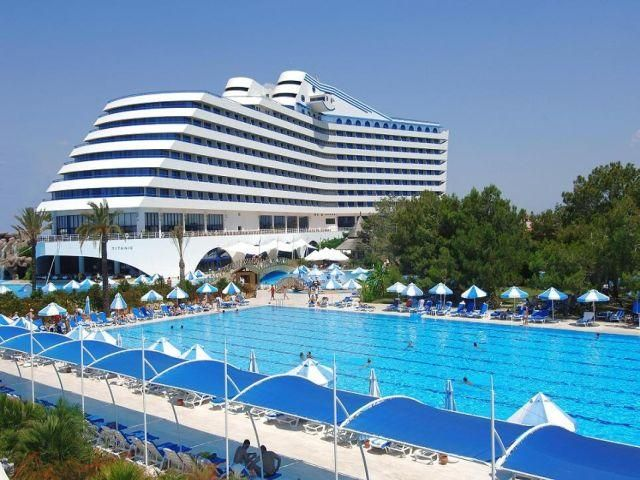Heres Another Hotel Masquerading As A Cruise Ship The Titanic Beach Hotel At Antalya In Turkey