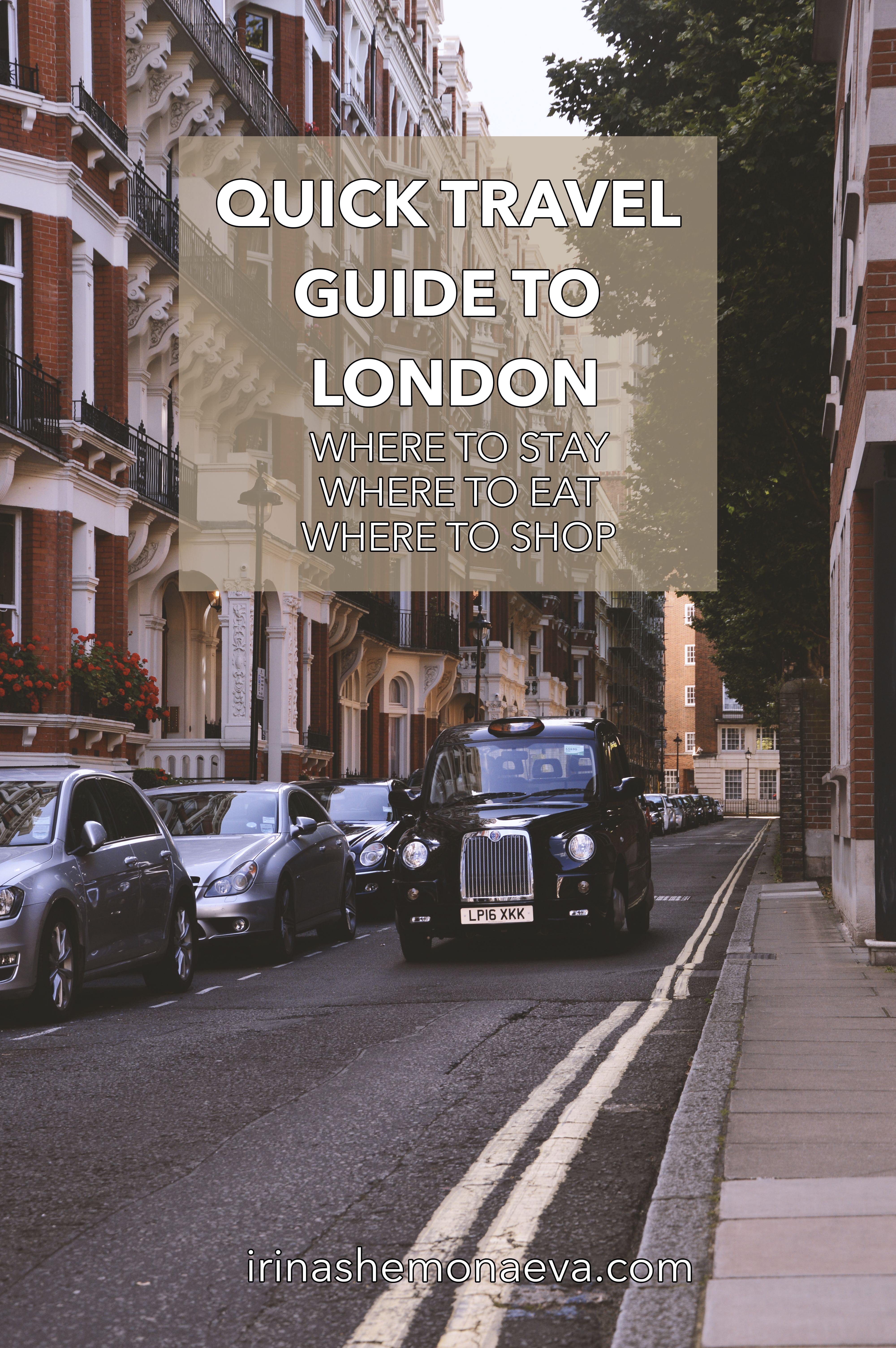 QUICK TRAVEL GUIDE TO LONDON