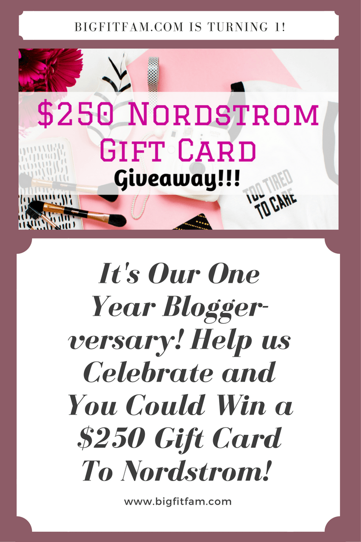 250 Nordstrom Gift Card Giveaway Its My One Year Blogger Birthday To Celebrate I Want You Win