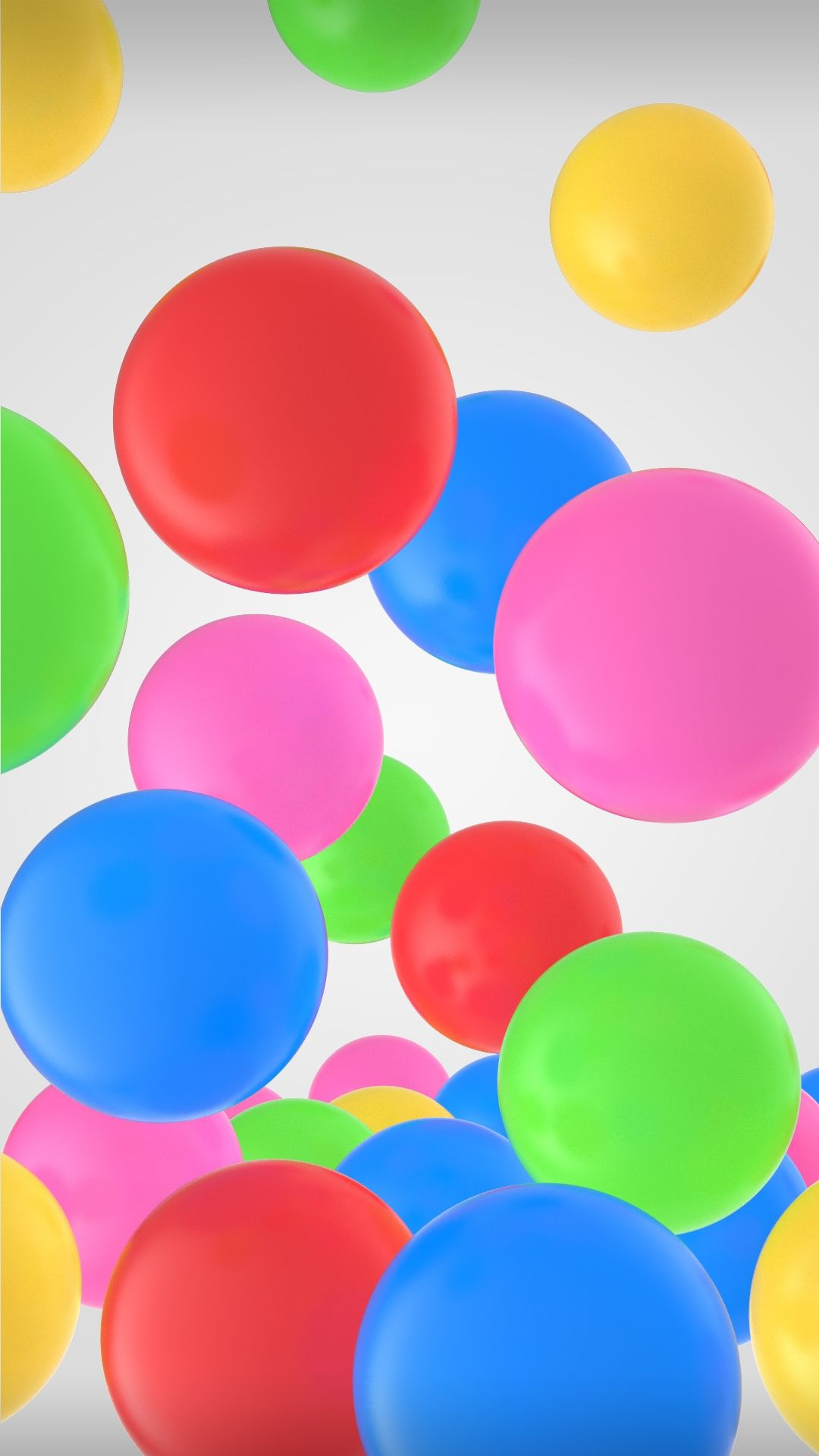 Samsung Galaxy A8 Wallpaper With Cool Colorful Bubbles Android