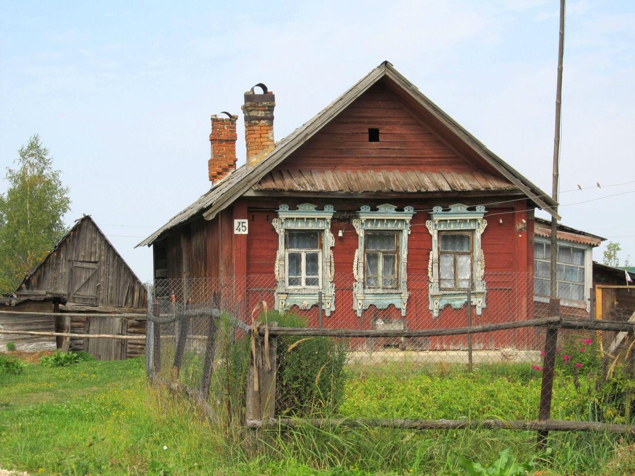 Русская деревня   Дом, Архитектура