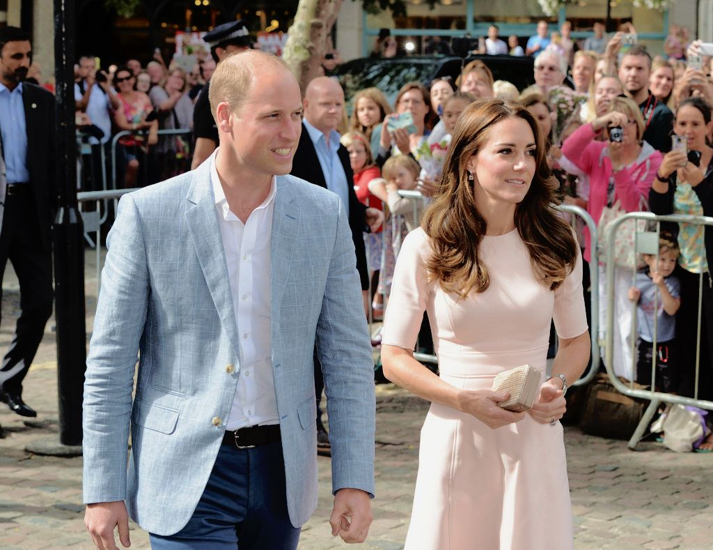 The Duke and Duchess of Cambridge arrive to visit Truro Cathedral on September 1, 2016 in Truro, United Kingdom.