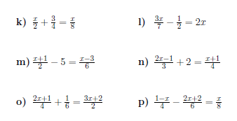 Linear Equations With Fractions Worksheet With Solutions Fractions Worksheets Graphing Linear Equations Writing Linear Equations