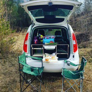 skoda roomster camper minicamper pinterest camping. Black Bedroom Furniture Sets. Home Design Ideas