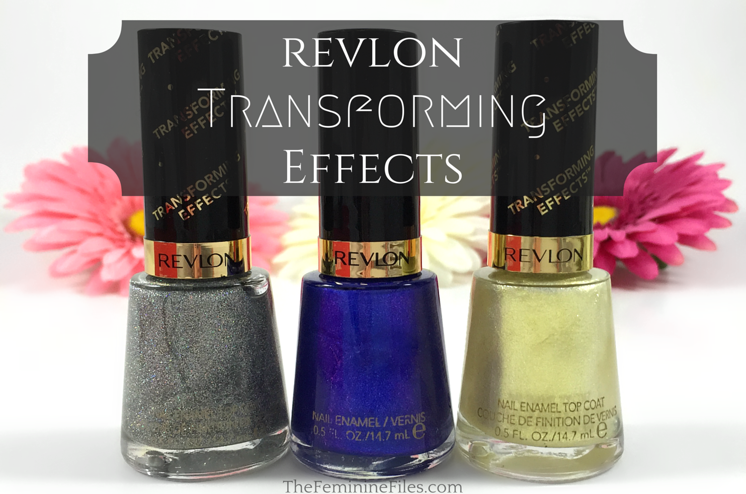 Revlon Transforming Effects Top Coats + Sultry Nail Polish | Top ...