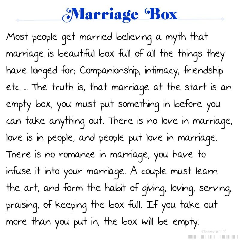Marriage Box Poem For My Marine Pinterest Marriage Marriage Interesting Steve Harvey Poem