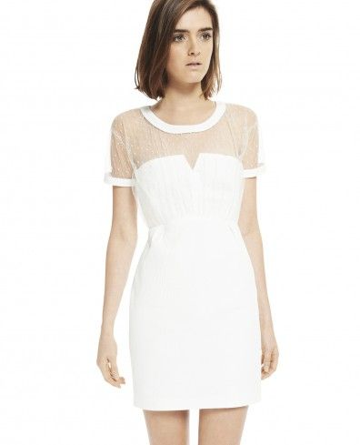 Robe blanche the kooples