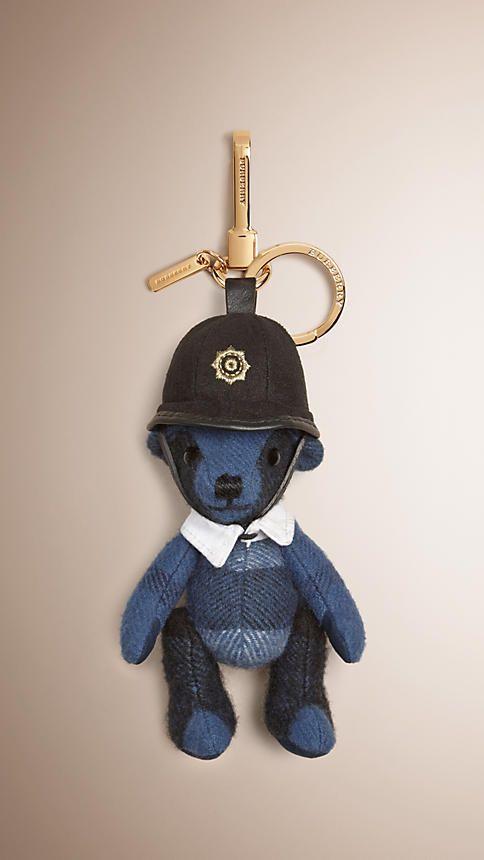 The Bobby Thomas Bear Charm - Blue Burberry GeGrKX