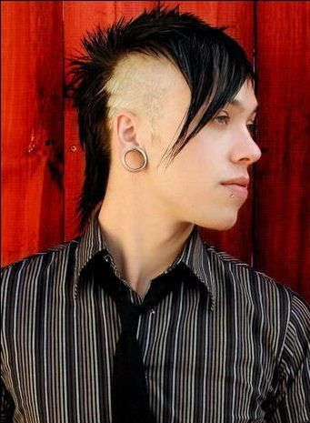 wild hairstyle emo hairstyles
