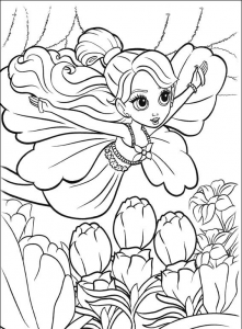 Barbie Mariposa Coloring Pages Free Printable Download