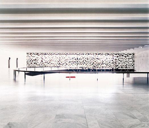 candida höfer, palácio do itamaraty - brasília I, 2005