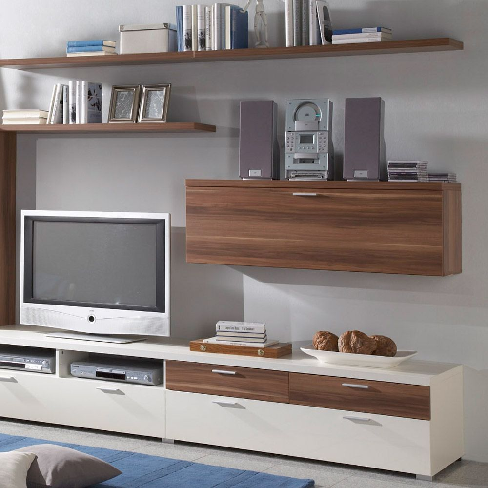 Captivating Schön Tv Möbel Nussbaum Weiß Amazing Ideas