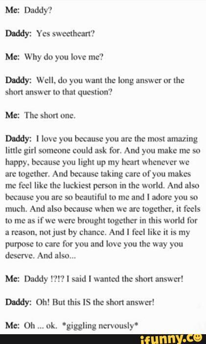 Daddy and little relationship