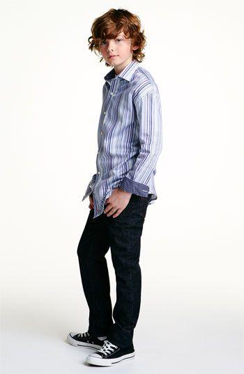 Thomas Dean Woven Shirt & Joe's Jeans (Big Boys)   Nordstrom