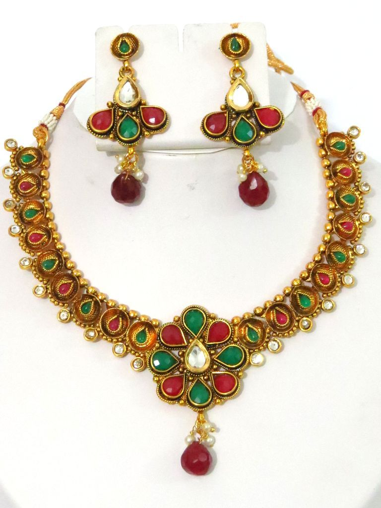 Online Indian Costume Jewellery Shopping From A Great Selection At Jewellery  Store With Imitation Or Artificial