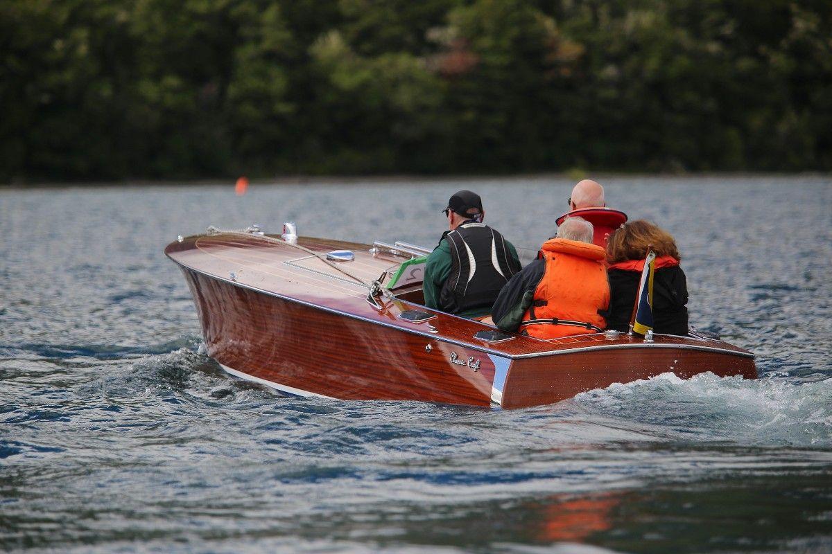 Classic Craft Gentleman S Race Boat New Zealand Boat Classic Boats Wood Boats