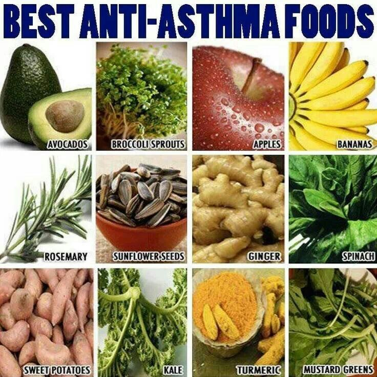 what to eat with asthma
