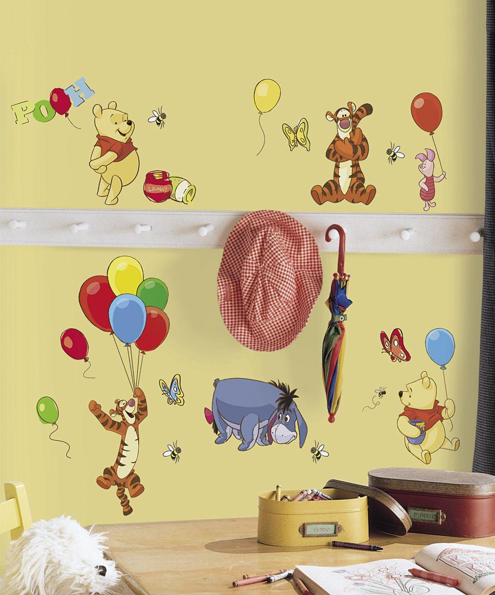 Winnie the Pooh & Friends Peel & Stick Decal | Home Decor | Pinterest