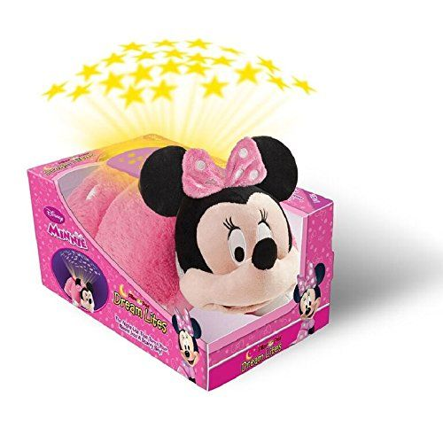 Disney Pillow Pets Dream Lites Minnie Mouse Stuffed Animal Plush