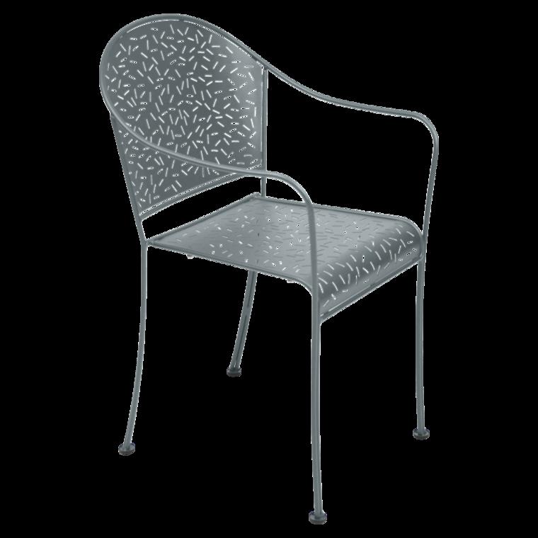 Bridge Rendez-Vous, fauteuil de jardin metal, mobilier de jardin 124
