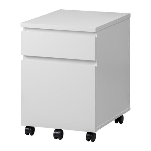Best Malm Drawer Unit On Casters White 16 1 2X23 1 4 Malm 400 x 300