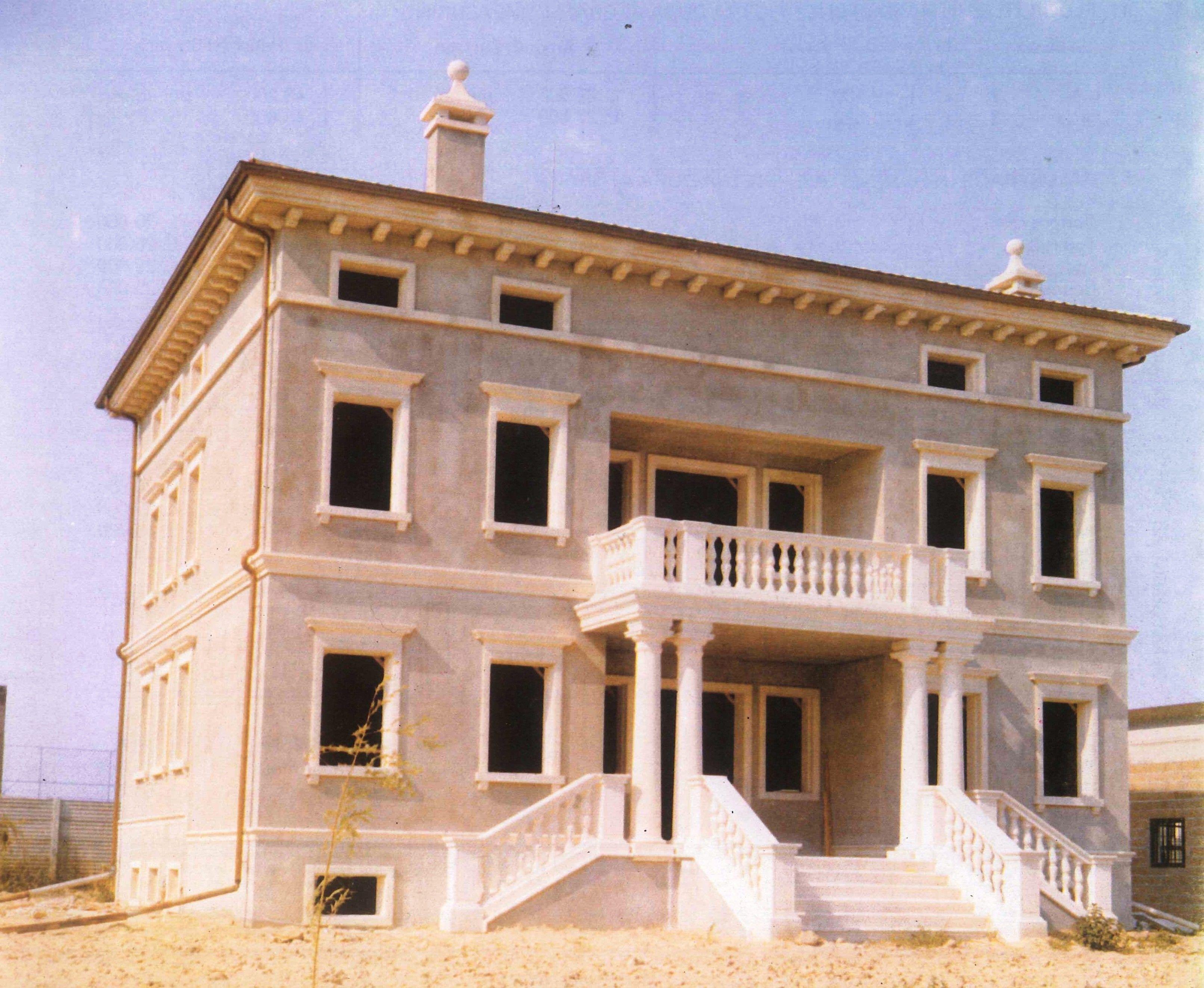 Cornici finestre per villa privata a cerea verona http - Cornici esterne per finestre ...