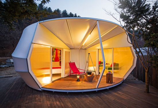 ArchiWorkshop\'s semi-permanent glamping structures reimagine the ...