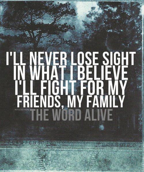 The Word Alive 3 Band Lyrics Alive Lyrics Music Lyrics The