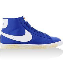 50771363ff nike blazer high vintage nylon blue/white | Shoes I Like | Nike ...