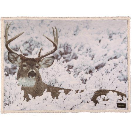 Remington Hunting Photo Real Throw 40 Inch X 40 Inch Multicolor New Deer Throw Blanket Walmart