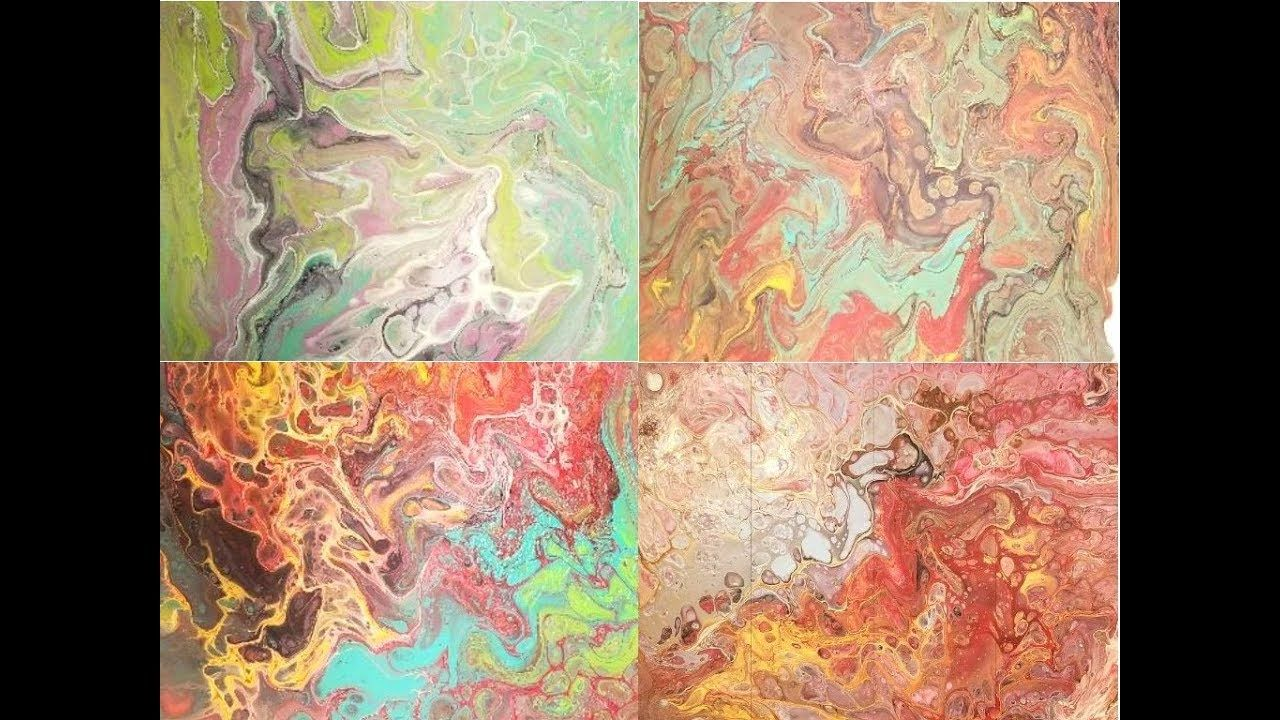 How To Do Acrylic Pour With Floetrol Martha Stewart Gloss