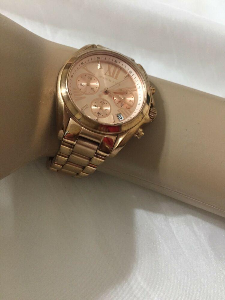 9354b102b461 MICHAEL KORS BRADSHAW ROSE GOLD TONE LADIES WRIST WATCH MK5799  affilink   watches