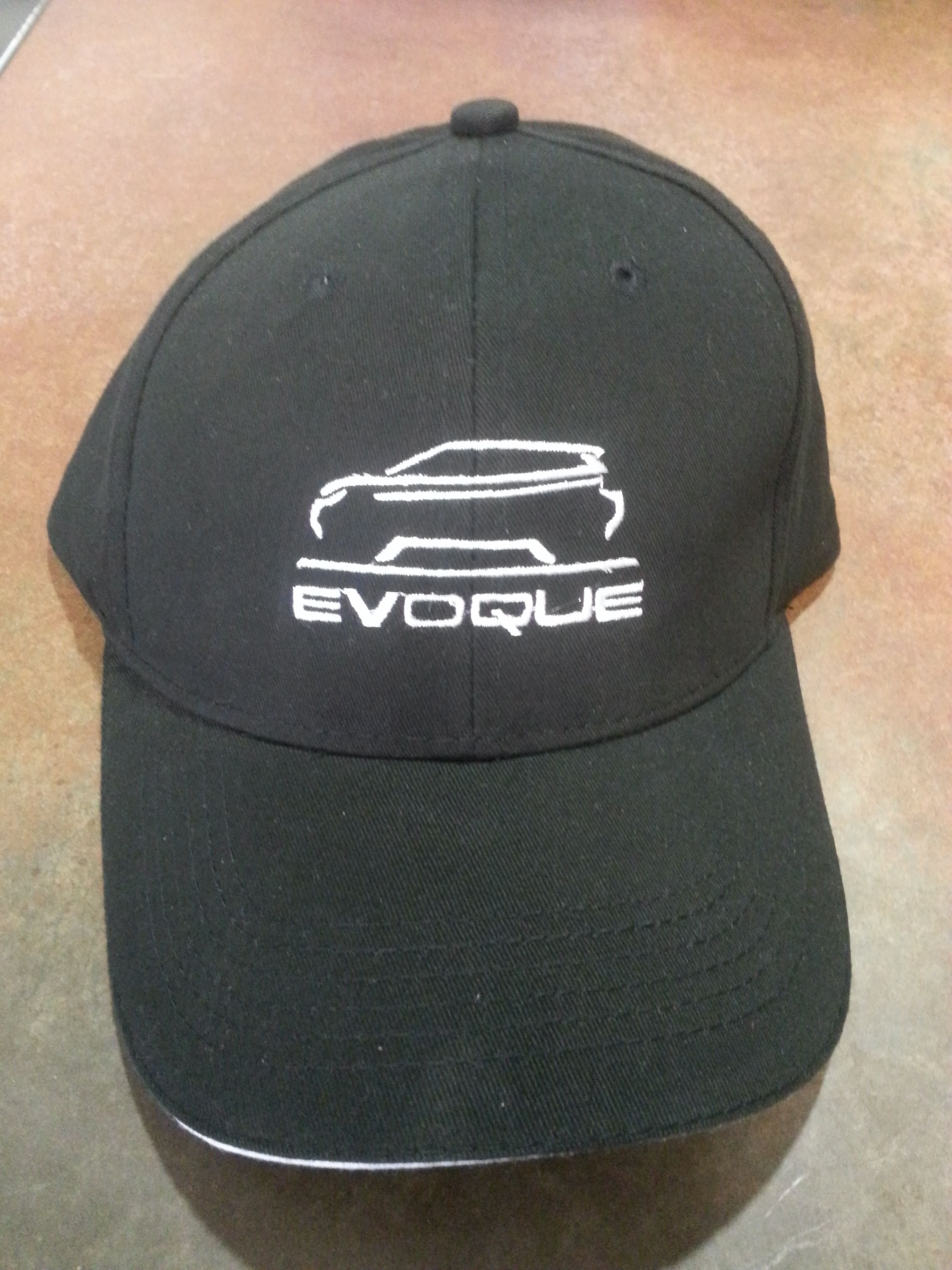 Range Rover Evoque Black with white Baseball Cap [pure-evoque-baseball-cap] - $22.00 : Range Rover Evoque Accessorie from Pure Evoque, Parts and Accessories for your Land Rover Range Rover Evoque