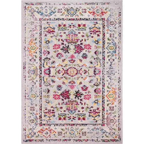 Chunn Pink Green Beige Yellow Area Rug With Images Yellow