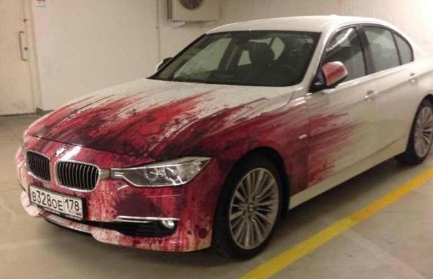 This is either a murderers bmw or an insanely graphic paint job this is either a murderers bmw or an insanely graphic paint job diy carfunny solutioingenieria Choice Image